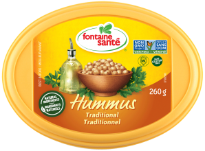 Hummus traditionnel 260gr