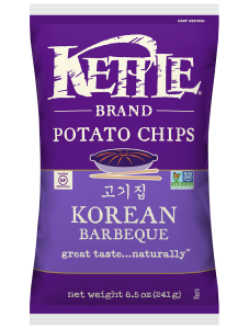 Kettle chips 220gr BBQ Coréen - Taxable