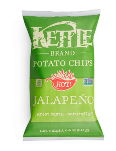 Kettle chips 220gr Jalapeno - Taxable