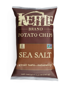Kettle chips 220gr Sel marin  - Taxable