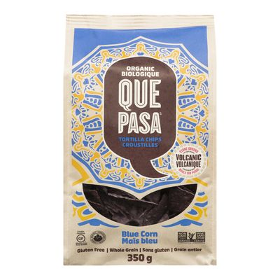 Que Pasa - Croustille de maïs -350gr BIO Bleu - Taxable