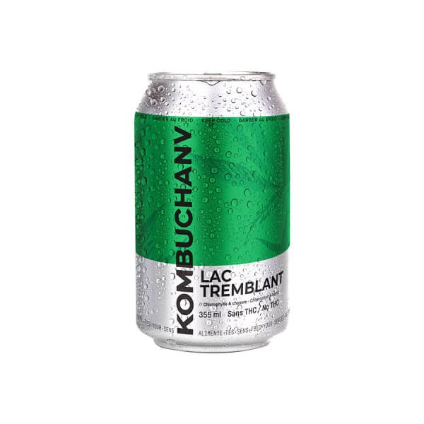 Kombuchanv Chlorophylle 355ml - (consigne incluse)