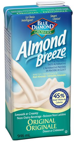 Boisson d'amandes Almond Breeze - Original -946ml