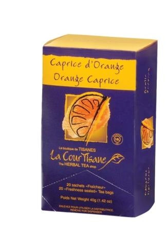La courtisane - Tisane - Caprice d'orange