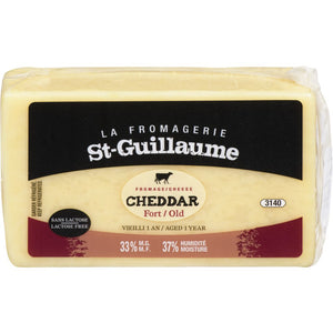 Fromage st-guillaume cheddar vieilli 1 an 400gr