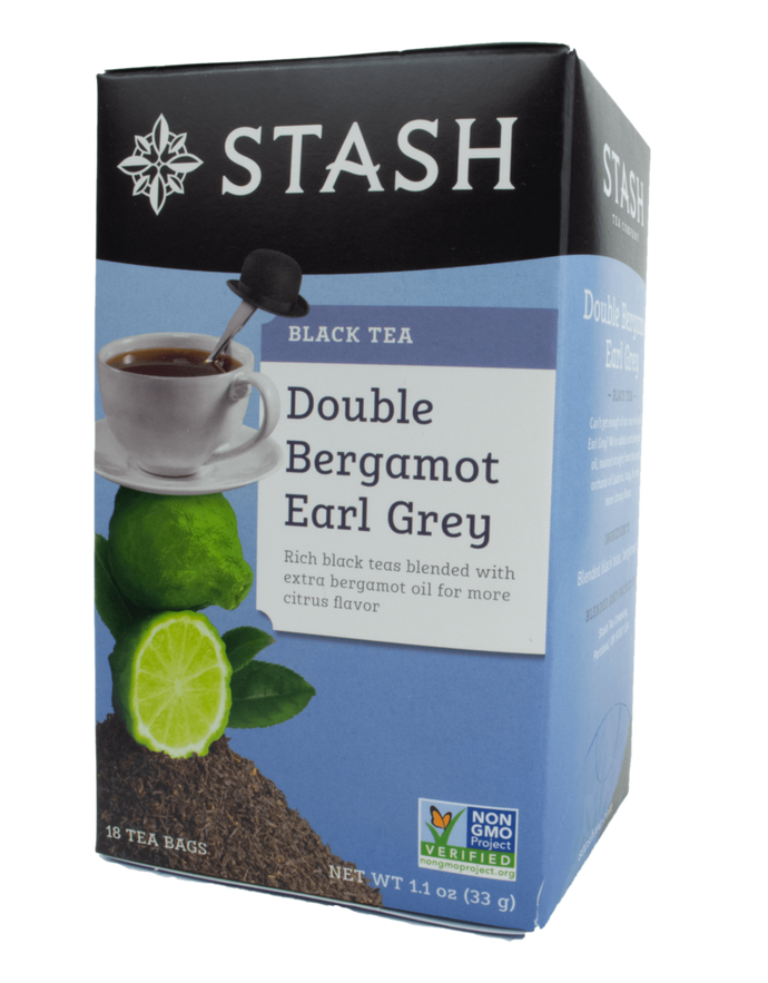 Stash - Thé noir -Earl grey a double bergamote