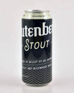 Glutenberg Stout 473 ml (consigne incluse)