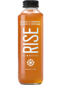 Rise - Kombucha -Orange et curcuma - 414ml