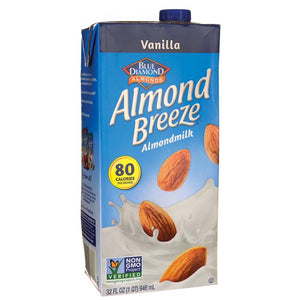 Boisson d'amandes Almond Breeze - Vanille -946ml
