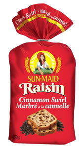 Pains raisins -sunmaid- 450gr