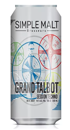 Simple Malt Grand Talbot 473ml (consigne incluse 0.20$)