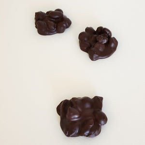 Caramelised nut clusters handmade in Milton NSW with Callebaut Belgian chocolate