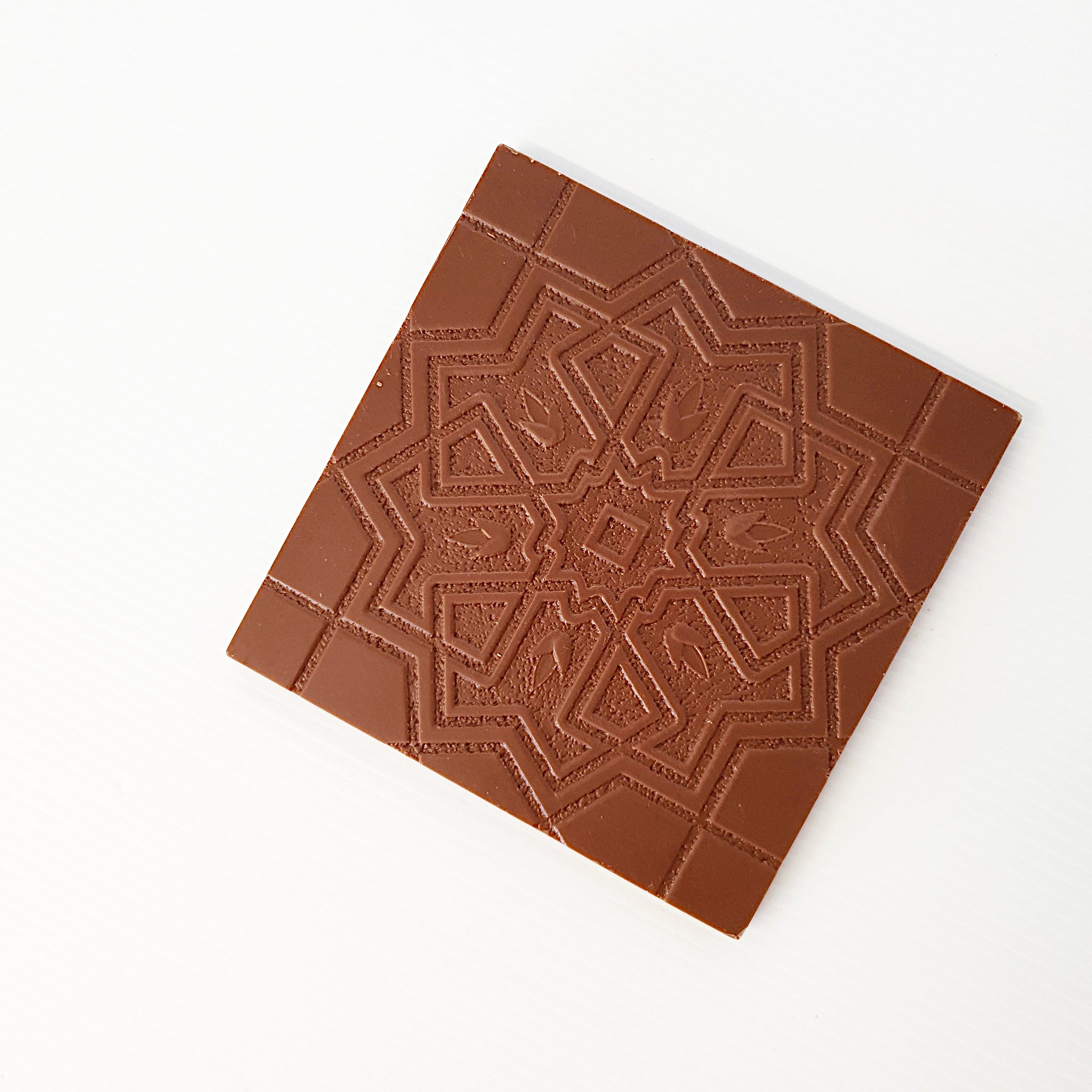 Milk chocolate bar handmade on the south coast of New South Wales. Made with Callebaut Belgian chocolate. Beautifully designed delicious treats made for everyone to enjoy