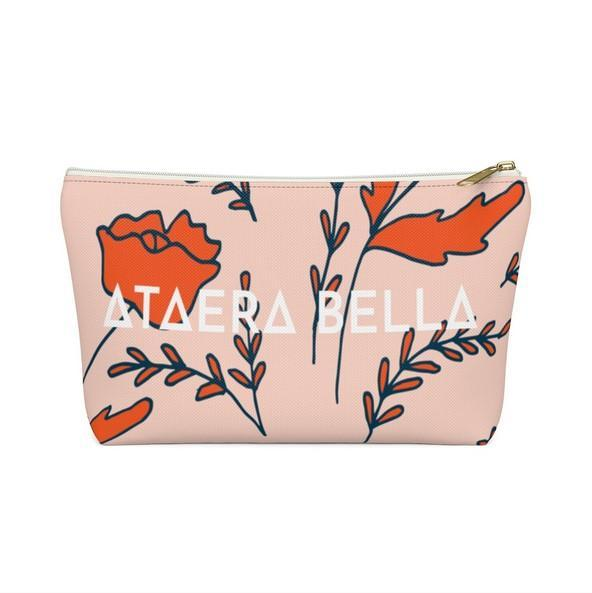 THE MINDY MUA ZIPPERED CLUTCH - ATAERA BELLA