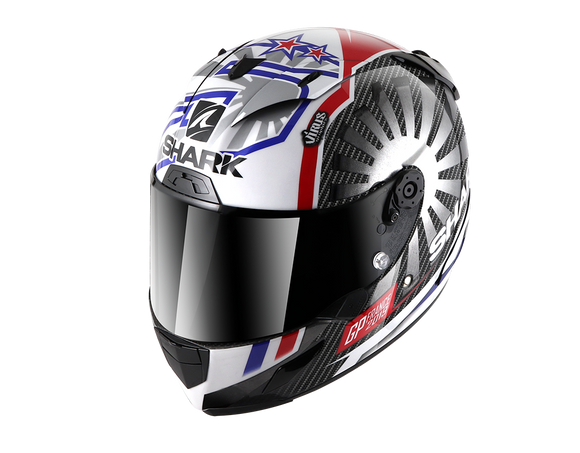 Shark Race-R Pro Helmet Replica Zarco GP France 2019 DUR