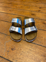 Load image into Gallery viewer, BIRKENSTOCK silver