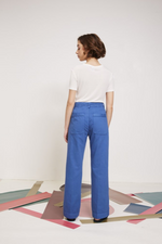 Load image into Gallery viewer, Pantalon LAB DIP bleu kamata