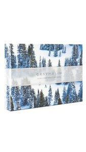 Gray Malin Snow Two-Sided Puzzle