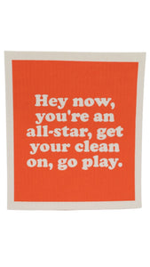All-Star Dishcloth