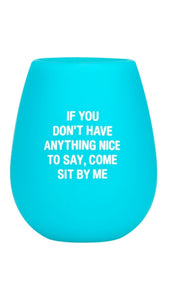 Sit by Me Silicone Stemless