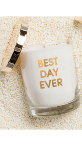 Best Day Ever Candle