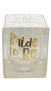 Bride to Be Stemless Wine Glass