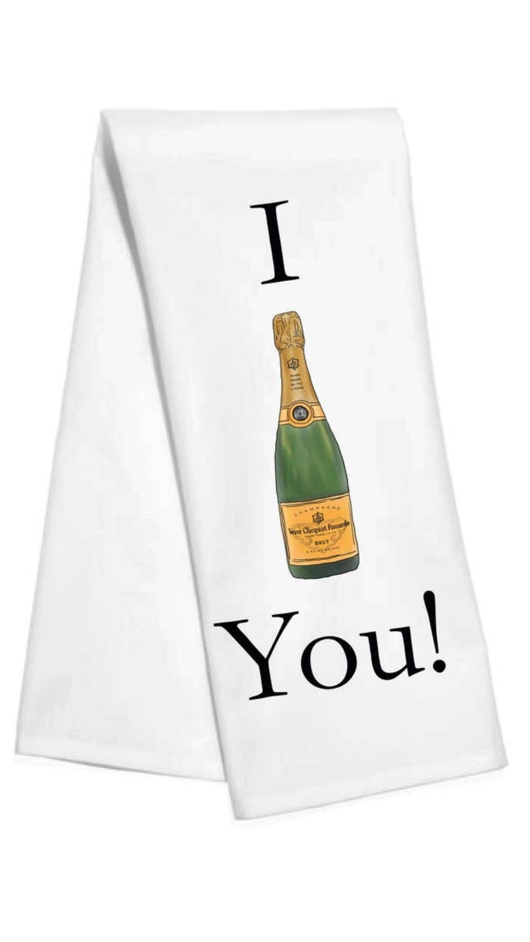 I Veuve You! Towel
