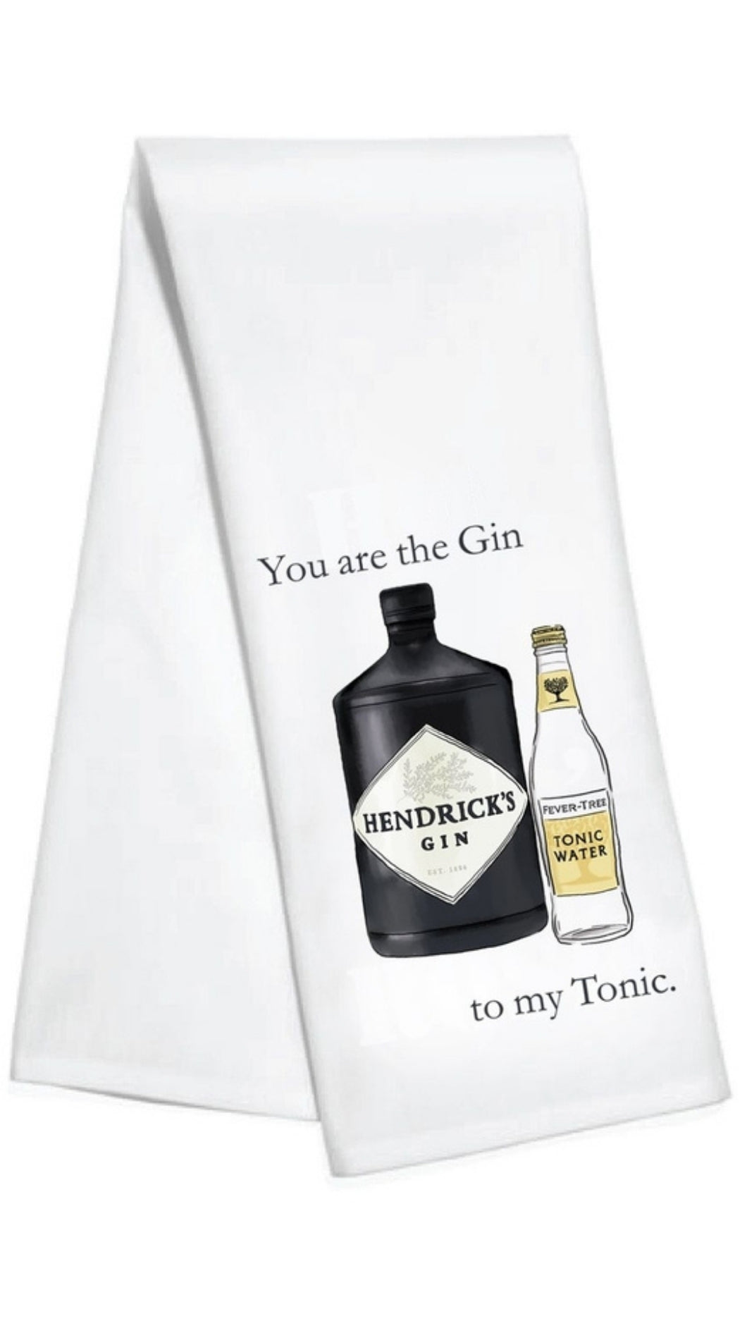 My Gin Tea Towel