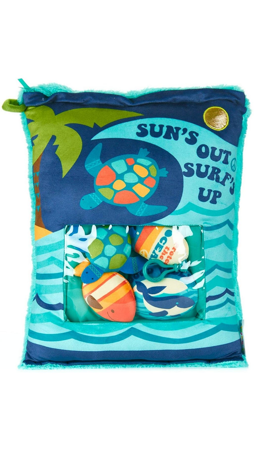Surfs Up Plush Pillow