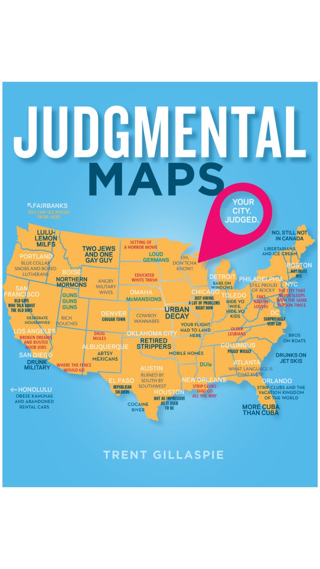Judgemental Maps Book