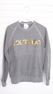 Gold CO Gray Sweatshirt