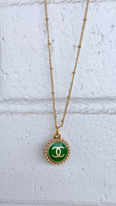 Kelly Green Chanel Necklace