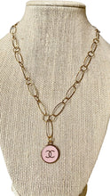 Load image into Gallery viewer, Wire Light Pink CC Necklace