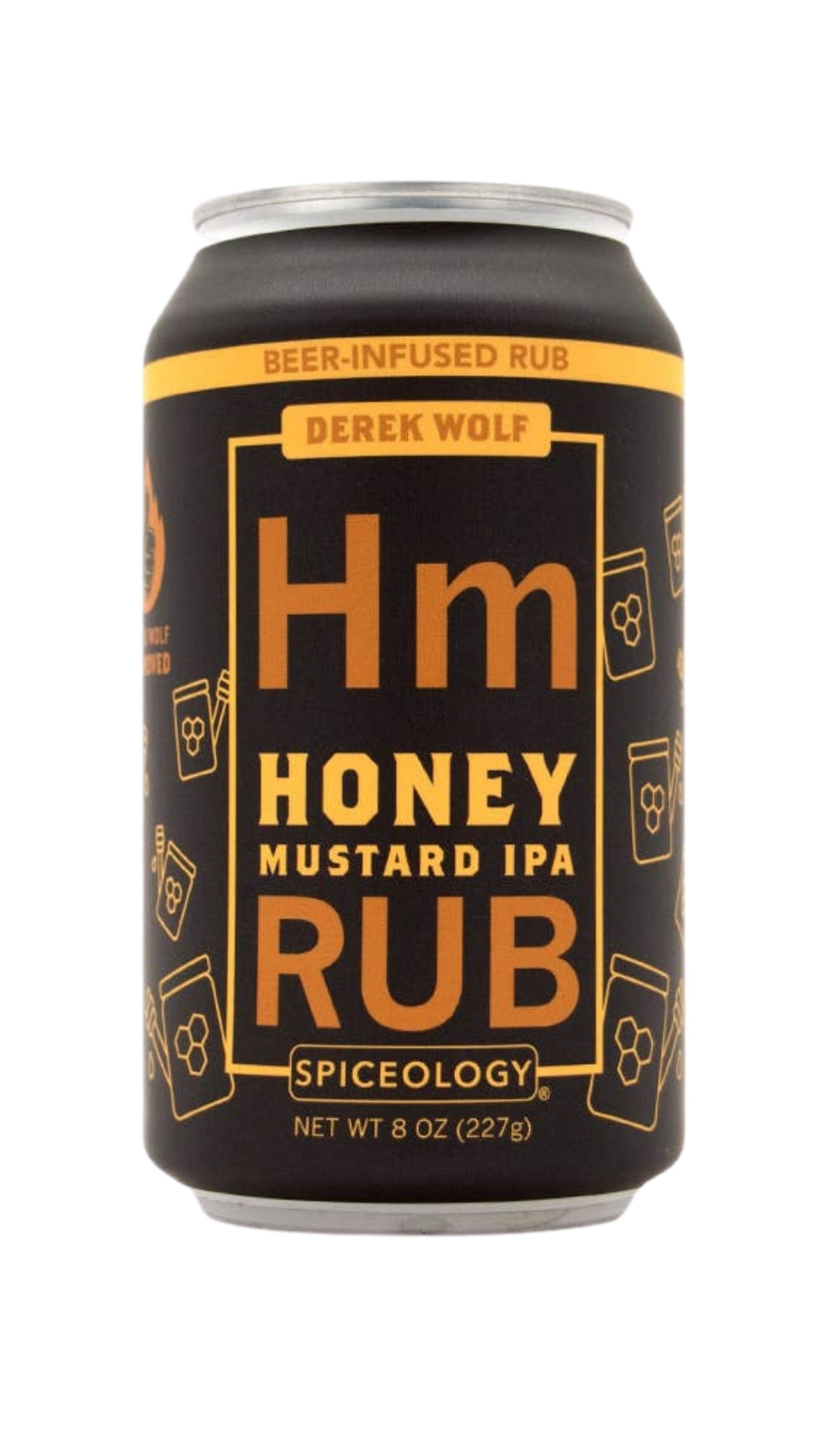 Honey Mustard IPA Rub