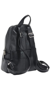 Hunter Medium Black Backpack Purse