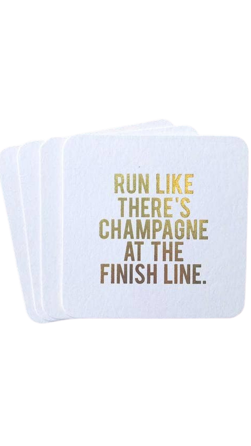 Champagne at the Finish Line Coaster