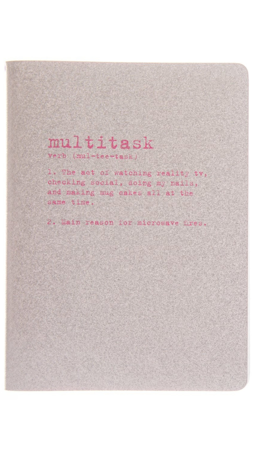 Glitter Multitask Journal