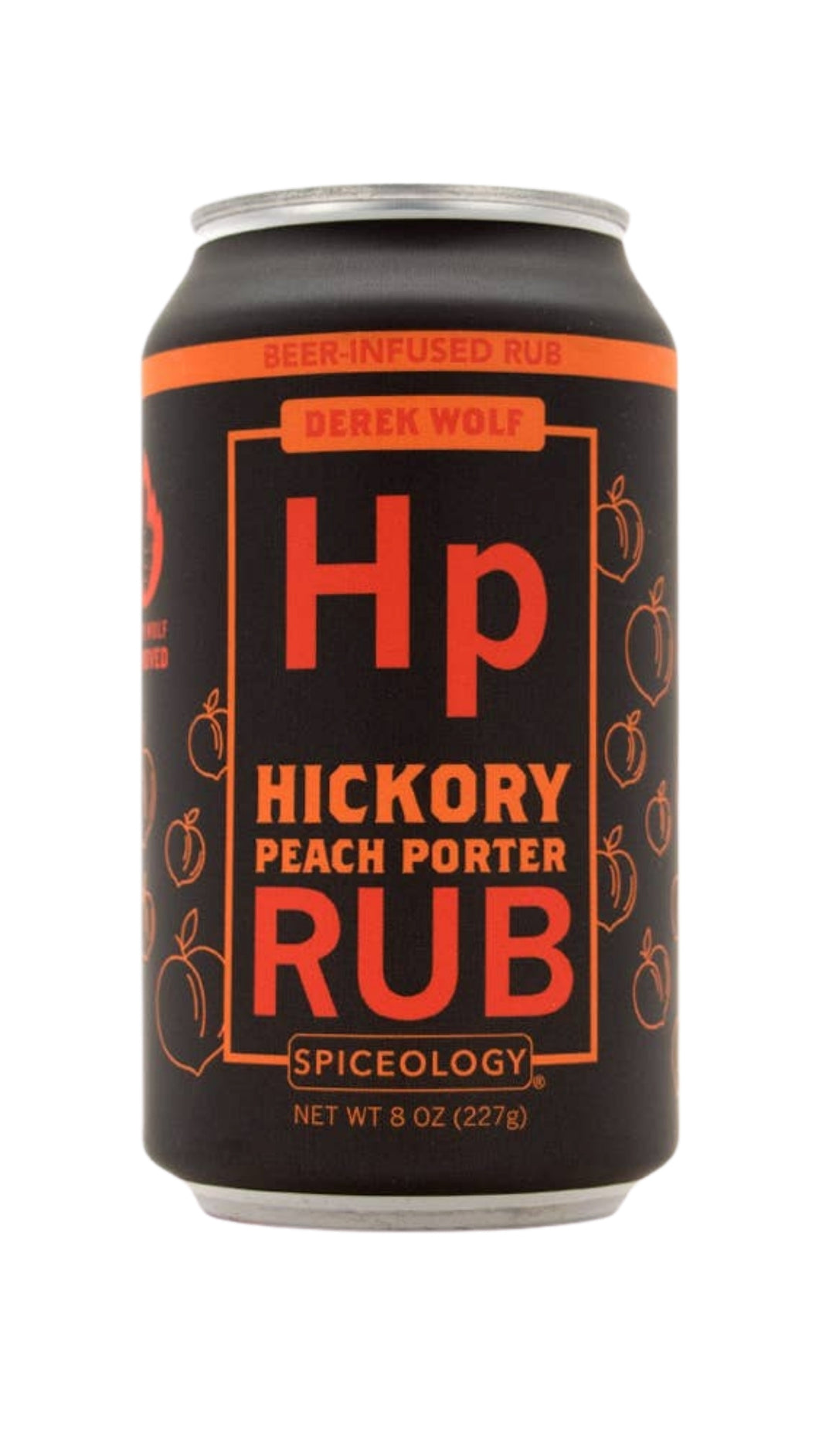 Hickory Peach Porter Rub
