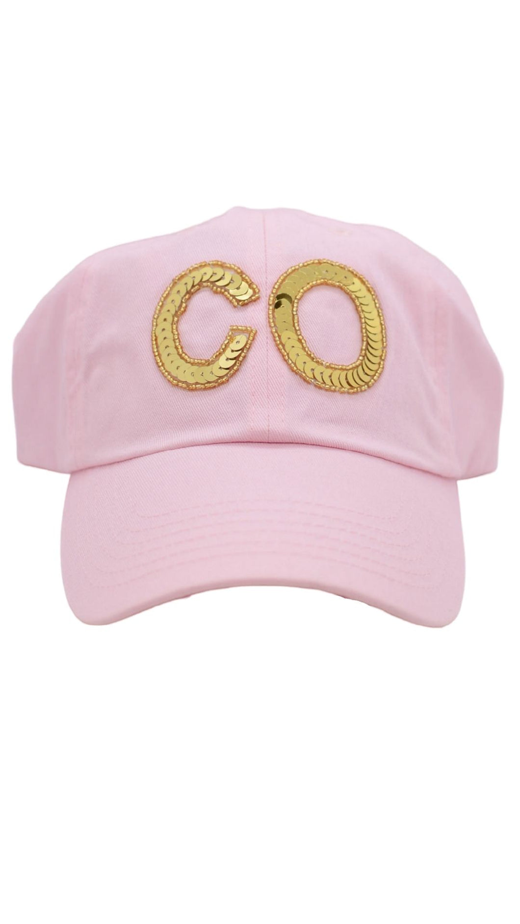 Pink and Gold CO Hat