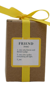Friend Candle by Ella B.