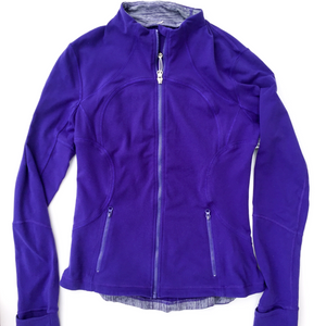 Lululemon Athletica Athletic Jacket Size M (8 10)