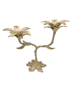 Palash Palm Taper Candle Holder