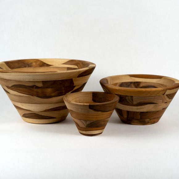 Conical Salad Bowls