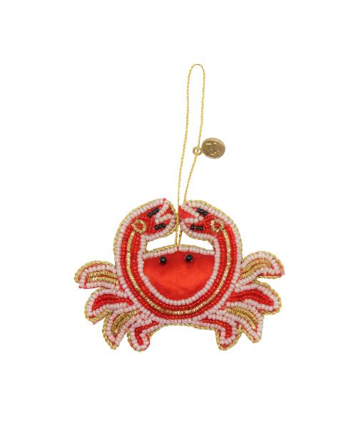 Quirky Crab Ornament