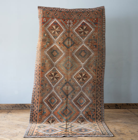 Kadri - Vintage Turkish Rug, 4.7' x 9.8'