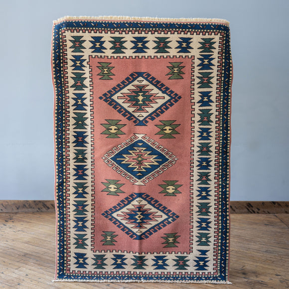 Emira - Vintage Turkish Rug, 4' x 6'