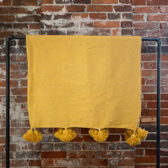Mustard Blanket, Choose Size