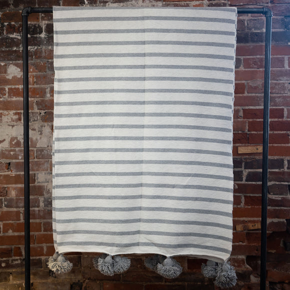 Uniform Stripes Blanket, Choose Size