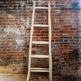 Hand Carved Eucalyptus Wood Ladder