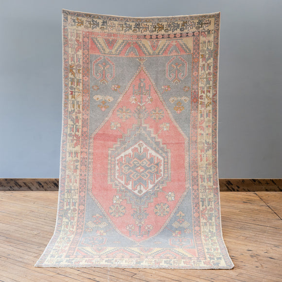 Defne - Vintage Turkish Rug, Large
